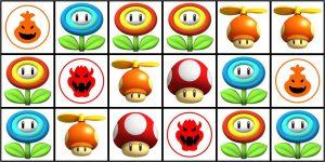 Nintendo Wii SuperMarioBros Power-up panels Panele link-bild