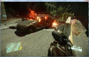 crysis2 auto brennt
